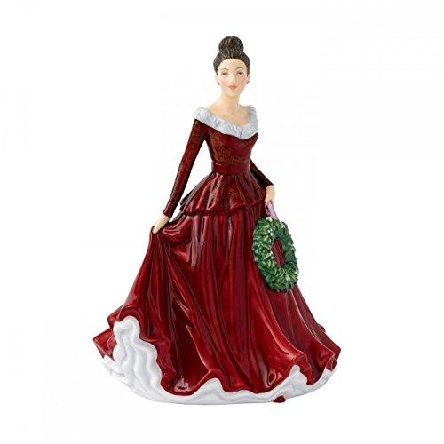 Figurine Mistletoe - Royal Doulton Songs of Christmas Mistletoe And Wine Figurine