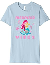 Mermaid Vibes / Celebrate the Mermaid Gift Shirt for Girls a