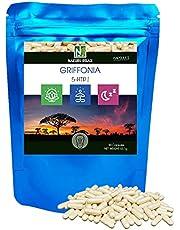 """Griffonia / 90 kapslar med 595 mg/NAKURU Relax/Testad och förpackad i Frankrike /""""5-HTP!"""""""