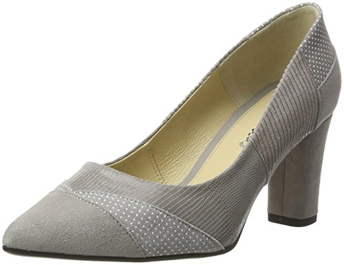 Piazza Damen 930517 Pumps Grau (Grau)