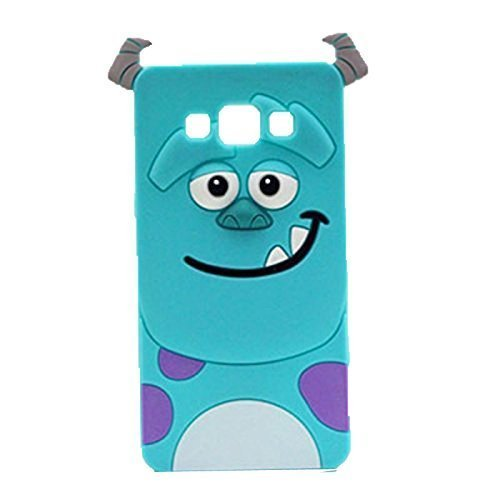 buy popular df6ef 25a8a G530 Case,Galaxy Grand Prime Silicone Case,Tribe-Tiger 3D Cute Cartoon Blue  Monster Soft Silicon Gel Rubber Case Cover Skin for Samsung Galaxy Grand ...
