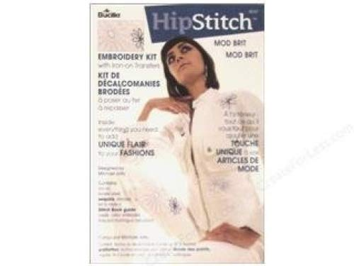 Bucilla Hipstitch Embroidery Kit - Mod Brit - Embellish Clothing And More by Bucilla B0018N840Q