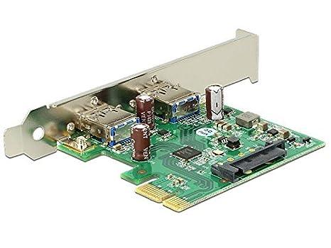 PCI Express tarjeta USB 3.0 de 2 Puertos, DeLOCK [89391 ...