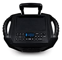 ECOXGEAR GDI-EXBM901 Waterproof Portable Bluetooth/AM/FM Wireless 100W Speaker and PA System, Black from Grace Digital