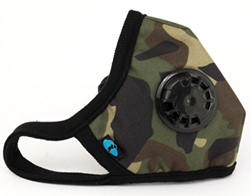 Filtration Pro (Cambridge Mask Co Pro Anti Pollution N99 Washable Military Grade Respirator with Adjustable Straps - General XL Pro)