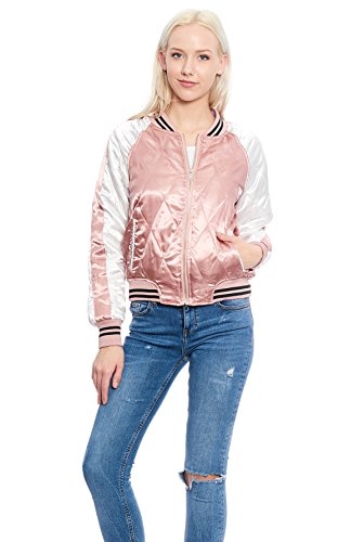 Quilted Colorblock Jacket - 1
