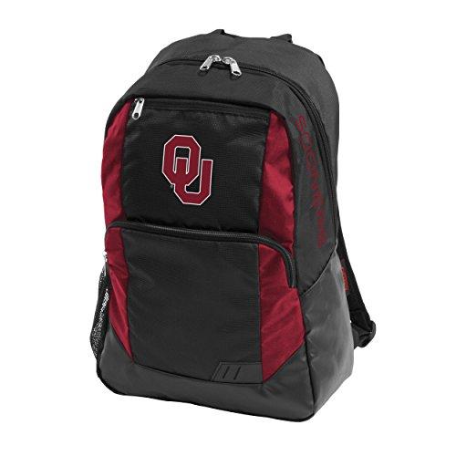 Logo Brands NCAA Oklahoma Sooners Adult Closer Backpack, Garnet