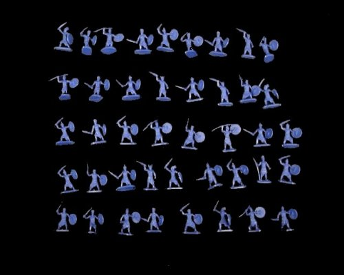 Cmf048a the Sea Peoples -- 42 Pieces (048) (25mm) 25 Mm Toy Figure Action War Military Plastic Model Soldier from milisetorg