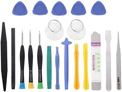 DUANDETAO 20 in 1 Profession Multi-Purpose Repair Tool Set for iPhone 6 /& 6 Plus for Galaxy//Mobile Phone