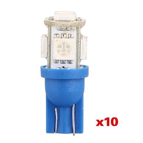 168 Lampe T10 158 W5w 5050 Smd Bleu 10x Veilleuse 5 194 Led Ampoule qSUMpzVG