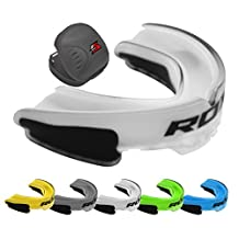 RDX Air Gel Mouth Guard & Case Gum Shield Boxing MMA Junior Adult Rugby Box Mouthguard Kickboxing