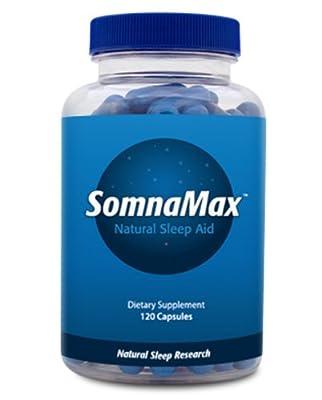Somnamax Sleep Aid - Natural Sleep Aid - Relax and Fall Asleep - Maximum Strength