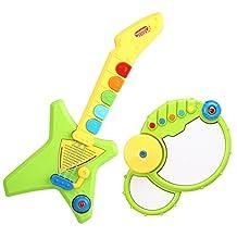 Peradix Guitar & Drum Musical Instrument Toys