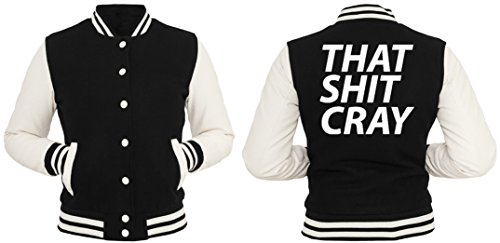That Shit Cray College Vest Girls Black