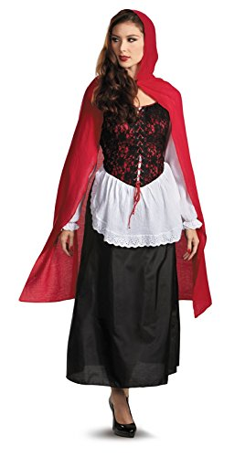 Little Red Riding Hood Adult Costume (Red Riding Hood Costumes For Women)