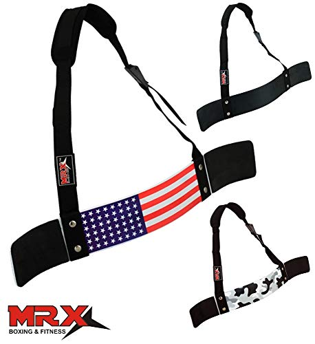 Belt Blaster (MRX BOXING & FITNESS Arm Blaster for Arm & Bicep Support - Bicep Curl - Muscle Bomber for Biceps, Triceps, Arm Muscle Strength - Bicep Blaster Heavy Duty for Body Builders & Weightlifters)