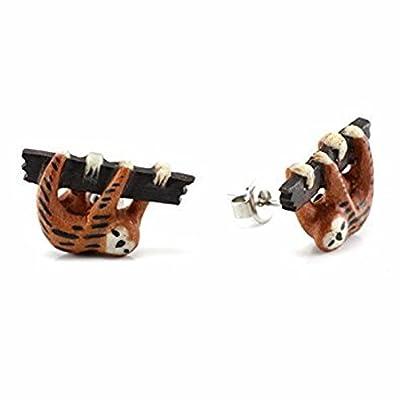 Wildklass Sloth Makerpin Earring Studs - Jewelry