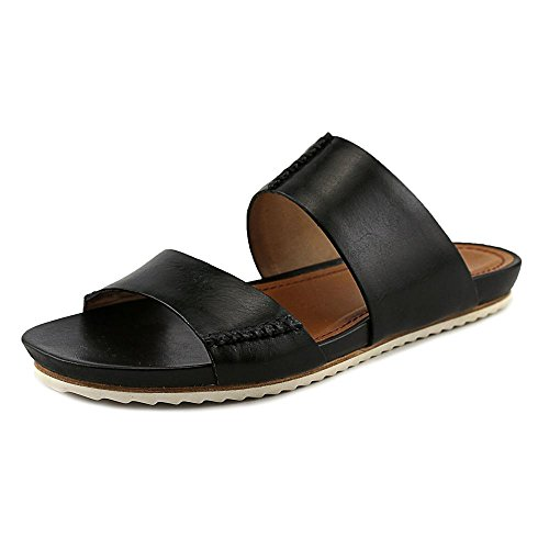 Trask Shea Toe S Black Calfskin H Sandal Leather Slides Open rvxrEPq1
