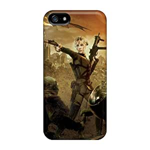 New Iphone 5/5s Case Cover Casing(blondie Rocket Sweet Pea)
