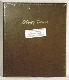 Dimes Dansco Coin Album (Dansco Dimes Plain with 168 Ports Album #7127 by Dansco)