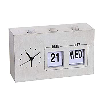 Home Gadgets Calendario Pared Agenda Organizador con Reloj ...
