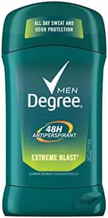Degree Men Dry Protection Antiperspirant Deodorant, Extreme Blast 2.7 oz,  (Pack of 6)