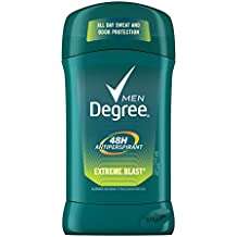 Degree Men Antiperspirant Deodorant Stick, Extreme Blast 48 Hour Protection, 2.7 oz, pack of 6
