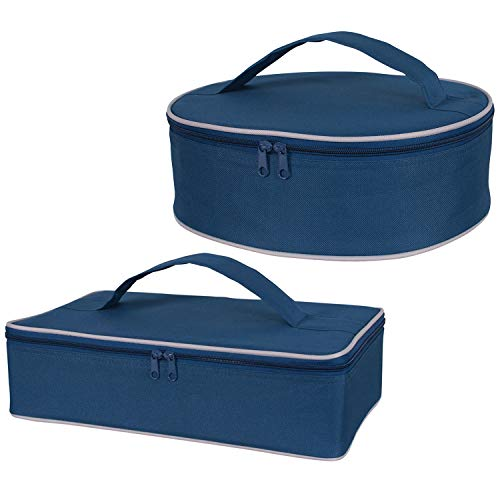 Casserole Carrying Case (Set of 2) Insulated Food Carrier ()