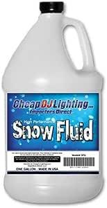 Snow Juice - Works in any Snow Machine - Safe - Non-Toxic Snow Machine Fluid