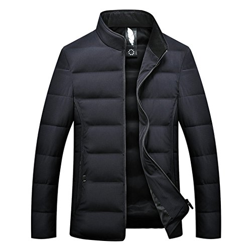 Winter HHY aged pure middle cotton male Navy men's 190 collar thick leisure winter dABxdwrq