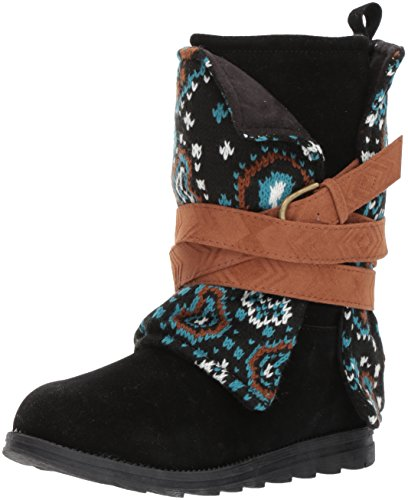 MUK LUKS Womens Nikki Boots-Black Fashion