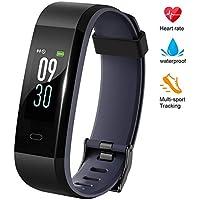 Lintelek Fitness Tracker, Color Screen Activity Tracker...