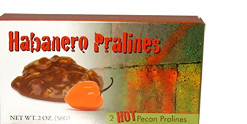Lammes Candies Habanero Pralines Minis, 2 Oz. (Pack of 4)
