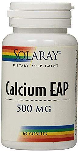 Calcium EAP 500mg Solaray 60 Caps