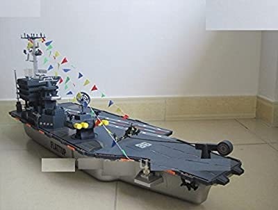 Big size:1.1M Radio remote control large rc boat USS Kitty Hawk CV-63 aircraft carriers warship model toys