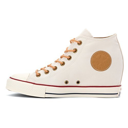 8139ee2e29a31d Converse Womens Chuck Taylor Lux Peached Canvas Wedge Sneaker ...