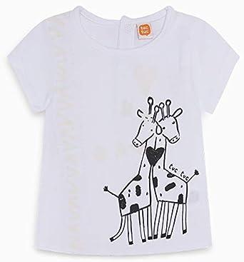 Camiseta Solar Punto Jirafas NIÑA Blanca Wild Side: Amazon.es: Ropa y accesorios