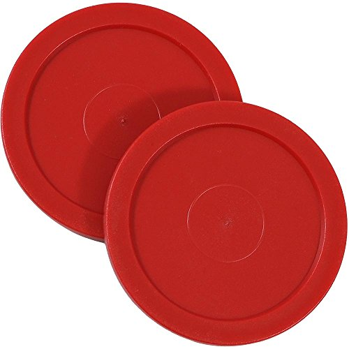 Sunnydaze Large 2.5 Inch Replacement Air Hockey Table Pucks, 2 Pack