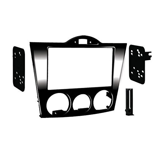 Metra 99-7510HG Single DIN Installation Dash Kit for 2004-2008 Mazda RX-8 (Black) (Dash Rx8 Mazda)