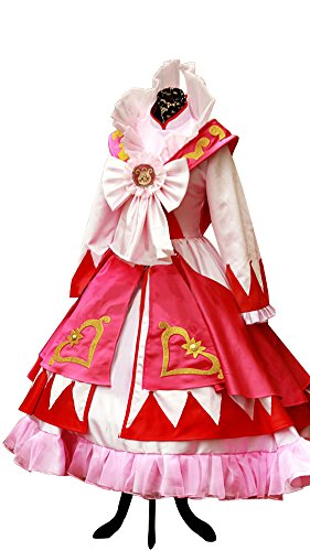 Mtxc Women's Twin Princesses of The Wonder Planet Cosplay Costume Fain Dress Size X-Large Red for $<!--$152.00-->