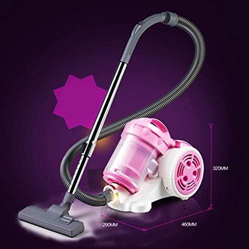 Aspirateur, 1200w Home Mute Puissant Haute Puissance sans Consommables Petit, Rose (46X29X32cm) Xuan - Worth Having