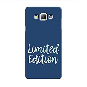 Cover It Up - Limited Edition Blue Galaxy A7 Hard Case