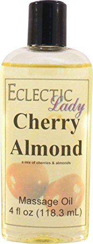 Cherry Almond Massage Oil, 4 oz