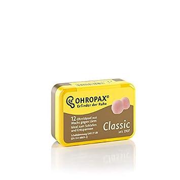 Ohropax Classic/ /tapones para los o/ídos 12/tapones para los o/ídos