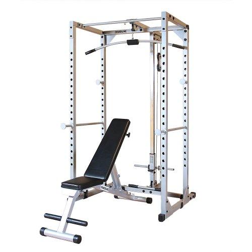 - Body-Solid Powerline PPRPACK Power Rack Package