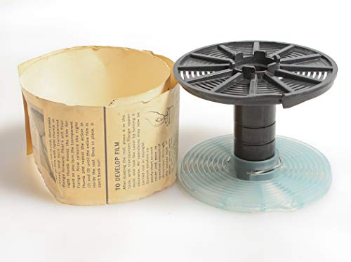 FILM DEVELOPING REEL, Plastic, New, Adjustable 35MM to 120MM with Instructions from FILM DEVELOPING REEL
