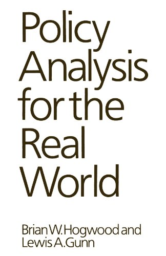 Policy Analysis for the Real World by Oxford University Press