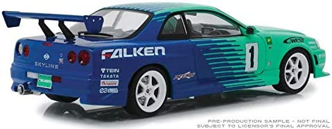 Nissan Skyline GT-R R34 #1 Falken Tires 1999 1//18-19050 GREENLIGHT
