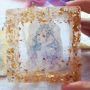 Painting Nails KINNO Gold Foil Flakes-Gold Leaf Flakes for Arts and Crafts Slime 2 Jars #2.5 Gold + 1 Jar Silver Gilding 3g//Bottle