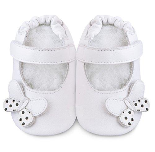 ShooShoos, Baby Babyschuhe - Lauflernschuhe  weiß weiß